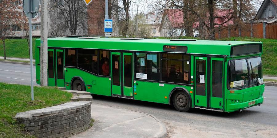 Схемы движения некоторых автобусных маршрутов изменятся в Могилеве с 16 и 18 октября