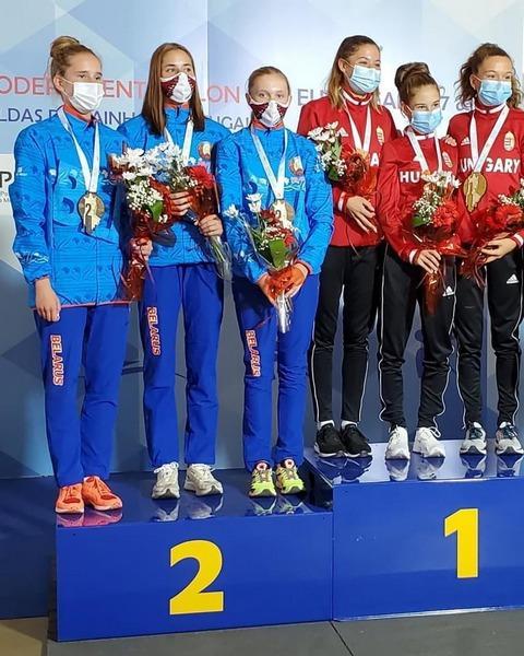 Могилевские спортсменки напервенстве Европы посовременному пятиборью завоевали две серебряные медали