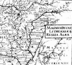 Карта Магілёў