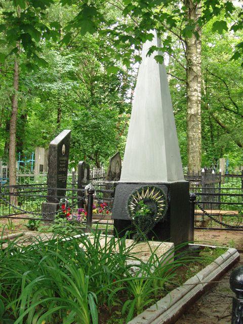 Братская могила павшим в боях за освобождение Могилева (Машековское кладбище)
