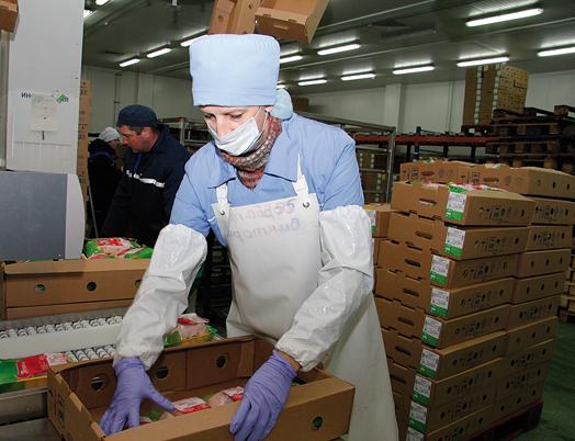 Могилёвское СЗАО «Серволюкс» рассчитывают сертифицировать для поставок субпродуктов вКитай