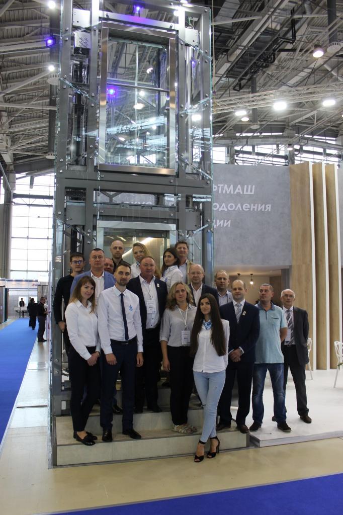 Могилёвский лифт завоевал Гран-при международной выставки