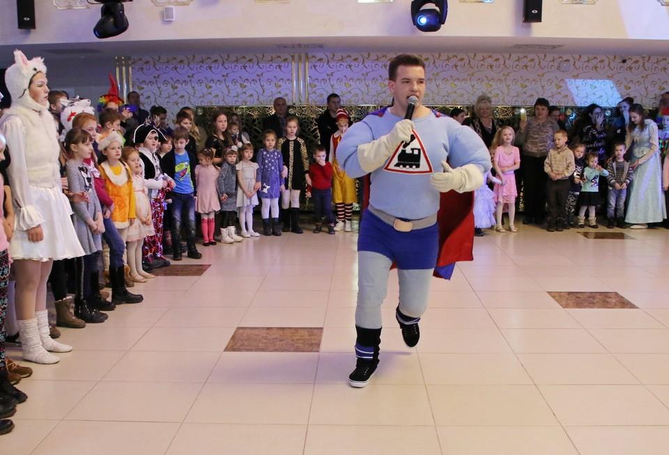 Большой праздник для маленьких: вМогилеве прошел городской новогодний утренник