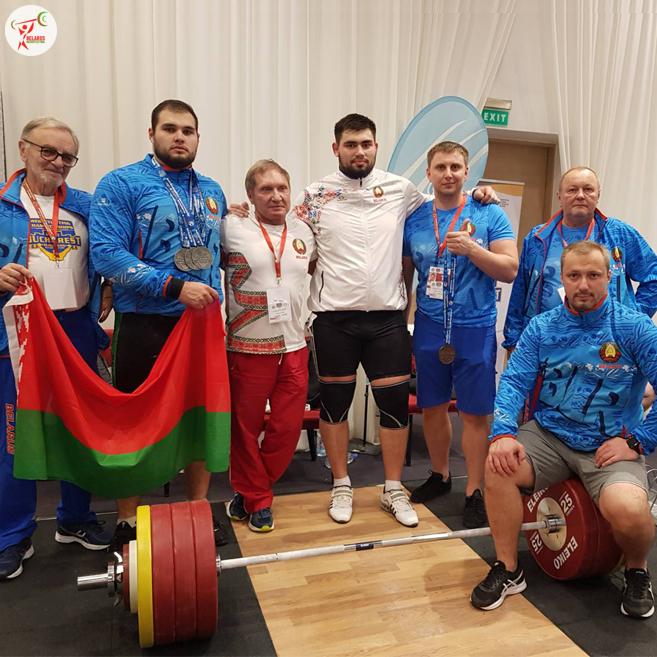 Могилевские тяжелоатлеты поднялись напьедестал почета начемпионате Европы среди юниоров имолодежи