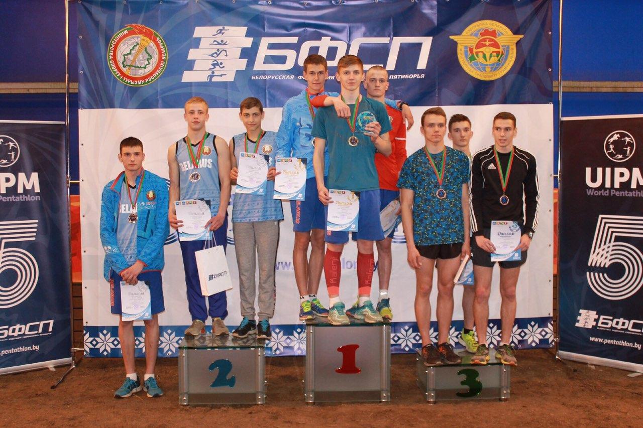 Могилёвские спортсмены стали победителями открытых Олимпийских дней молодёжи Беларуси посовременному пятиборью