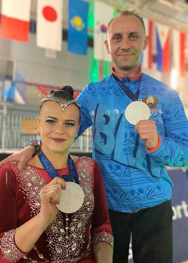 Могилевско-брестская пара завоевала серебряную медаль начемпионате мира потанцам наинвалидных колясках