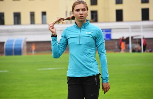 Могилёвская спортсменка стала бронзовым призёром международных соревнований полёгкой атлетике
