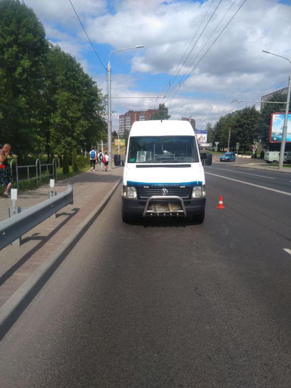 73-летний пешеход попал под колеса автомобиля вМогилеве