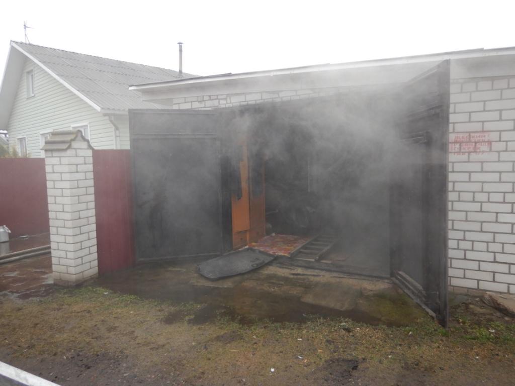 Частный жилой дом ихозпостройка горели вМогилеве 7марта