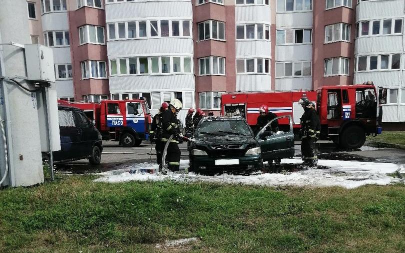 Автопожар произошел вМогилеве