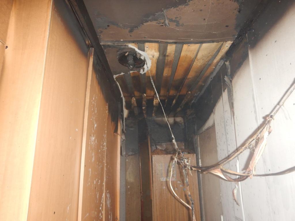 Пожар произошел вчастном жилом доме наулице Хользунова вМогилеве
