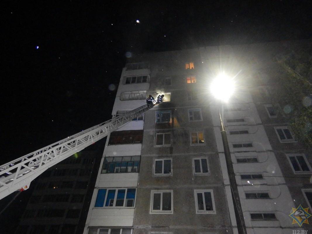 Напожаре вМогилеве погиб мужчина