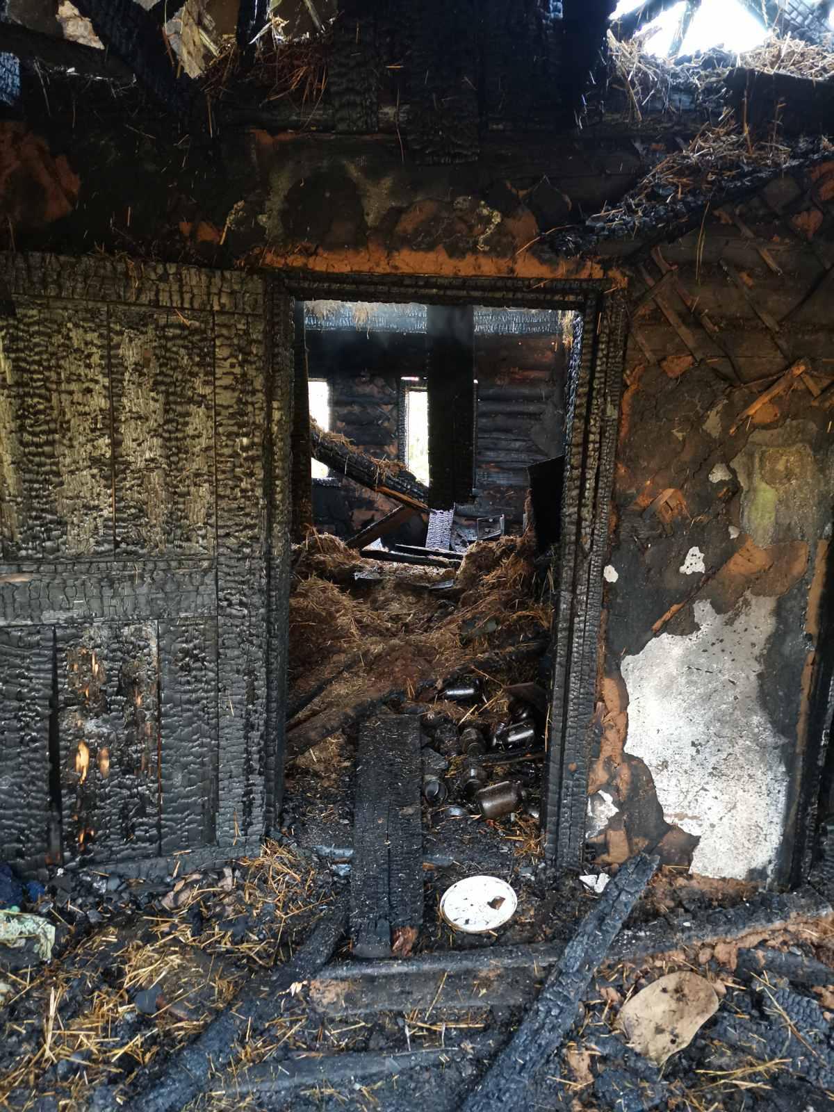 Частный дом горел наулице Красного Флота вМогилеве