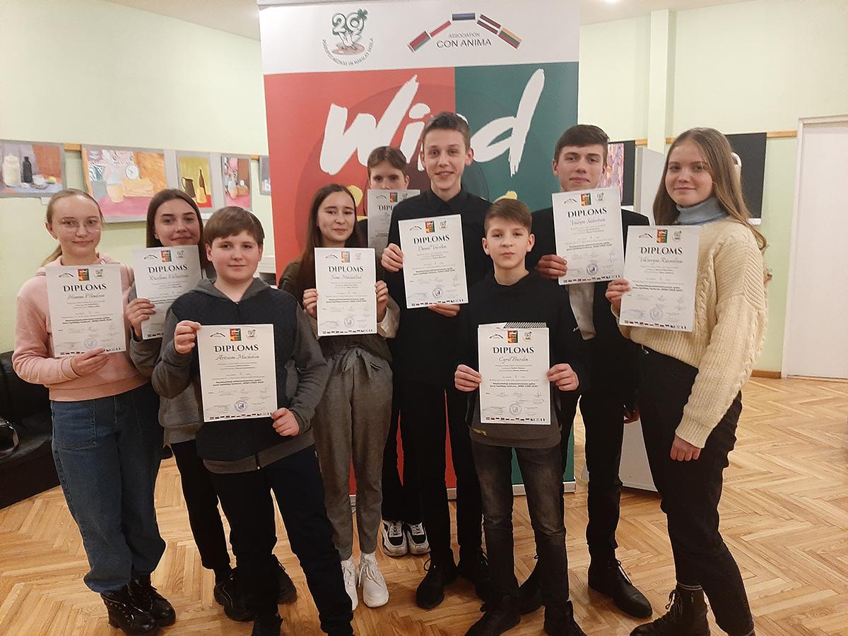 Учащиеся Могилевской гимназии-колледжа искусств блеснули талантами наМеждународном конкурсе «WIND STARS 2020»