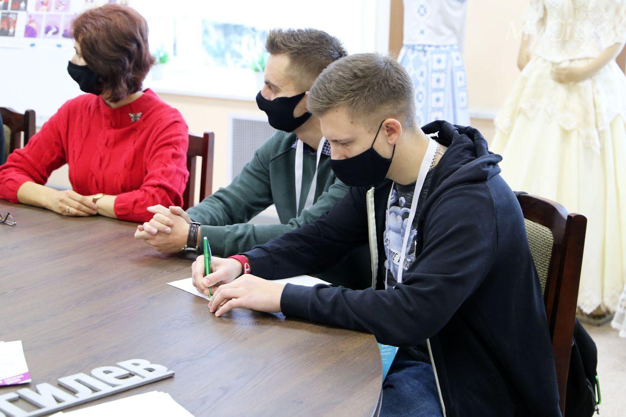 Могилевчане приняли участие вгородском этапе республиканского конкурса «100 идей для Беларуси»