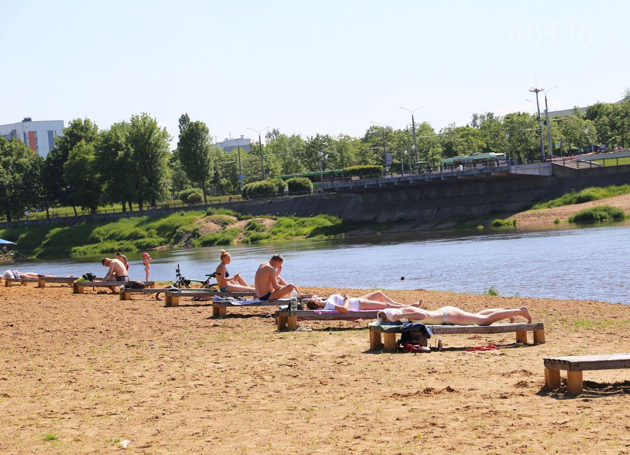 ВМогилеве по-прежнему запрещено купание натрех пляжах