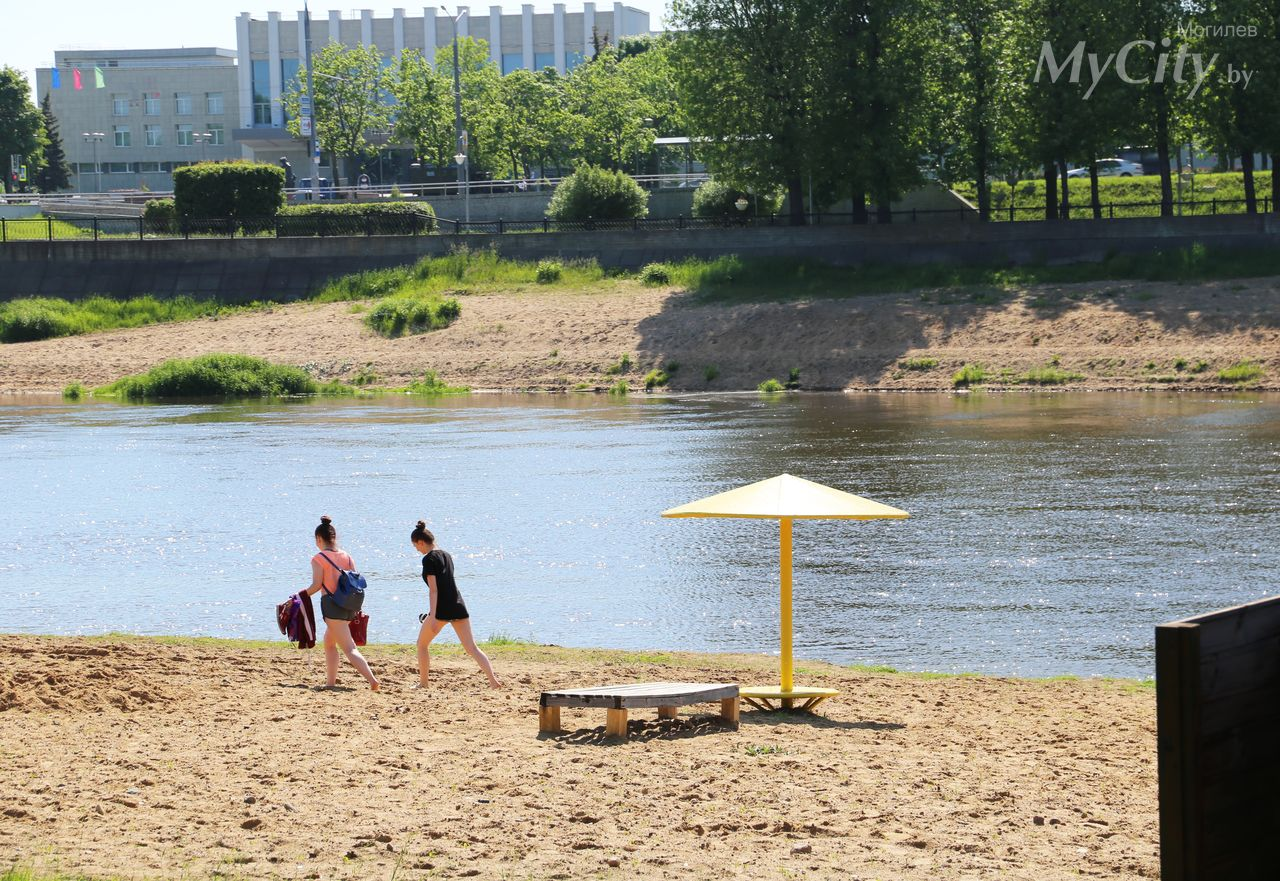 ВМогилеве сняли ограничительные меры покупанию вреке Днепр нагородском пляже