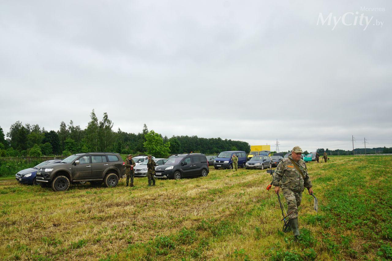 Экспедиция попоиску останков советских солдат, погибших вовремя обороны Могилева, началась близ деревни Тишовка