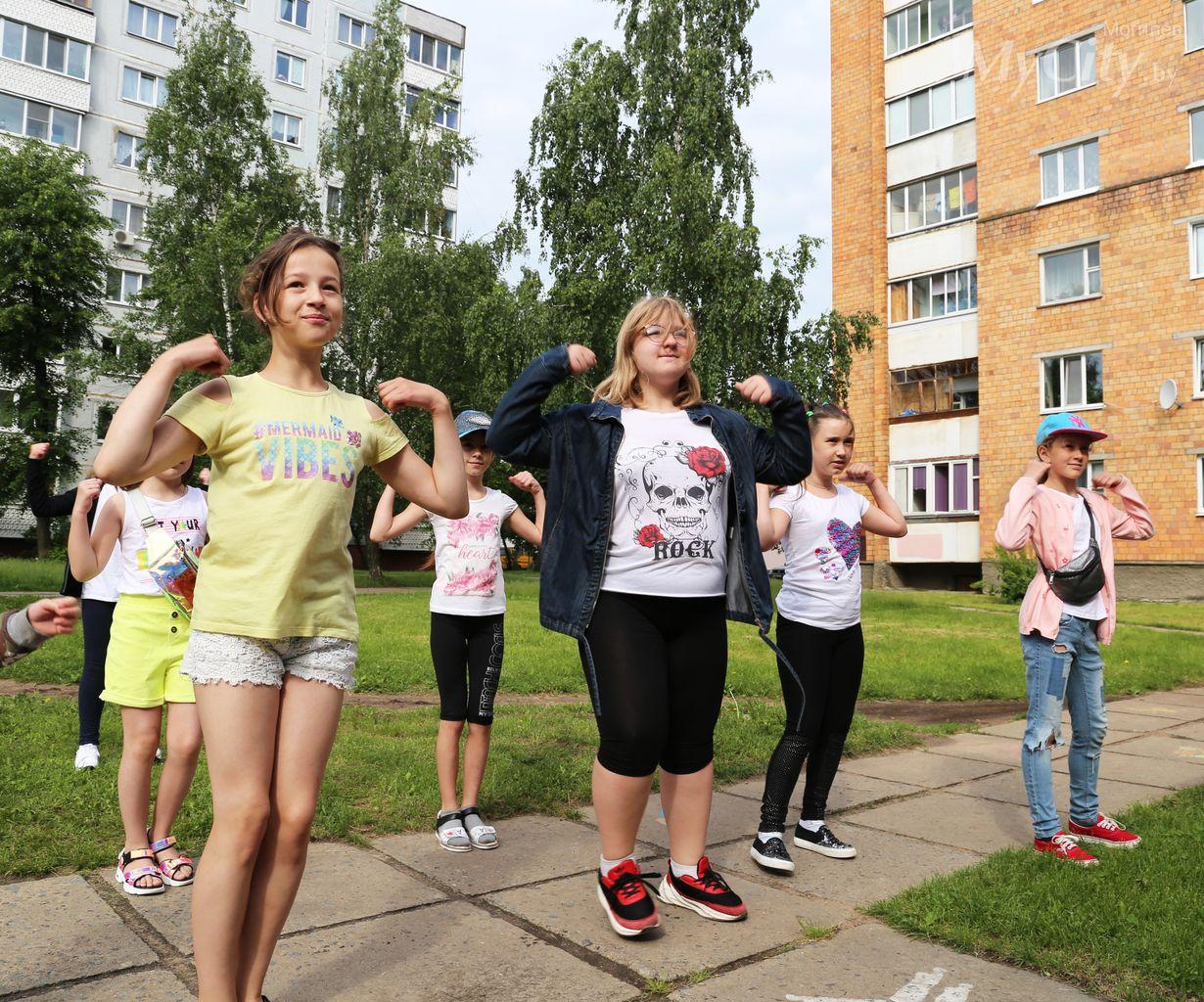 ВМогилеве продолжают работу детские лагеря сдневным пребыванием