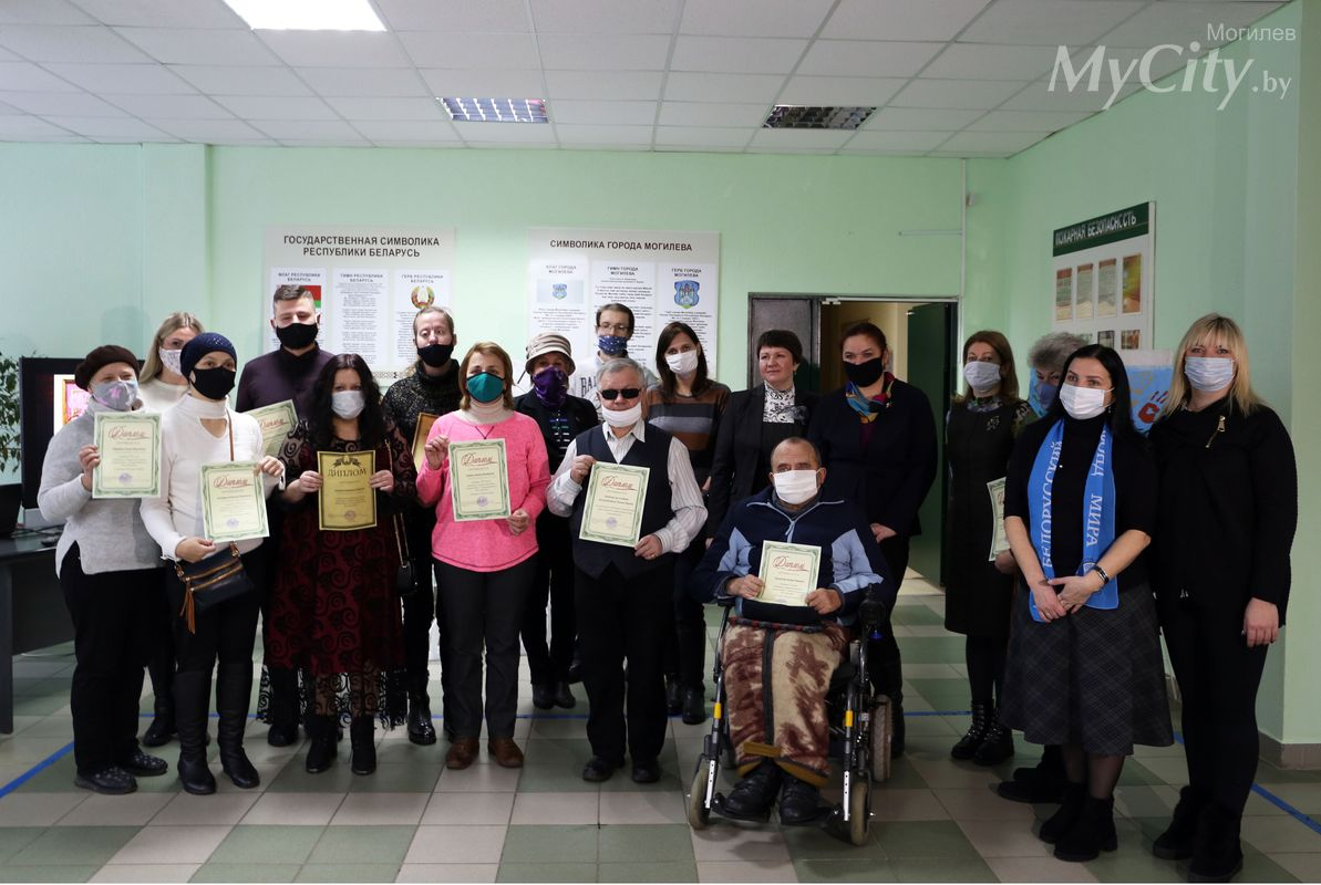 Итоги фестиваля «Хоровод талантов», посвященного Международному дню инвалидов, подвели вМогилеве