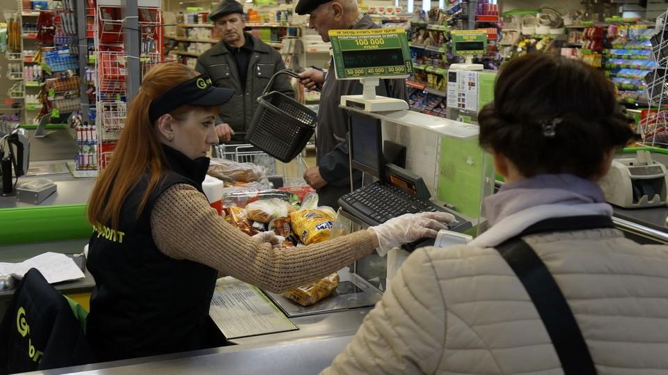 Вобъектах торговли иобщепита вМогилеве усилены меры профилактики вирусных инфекций