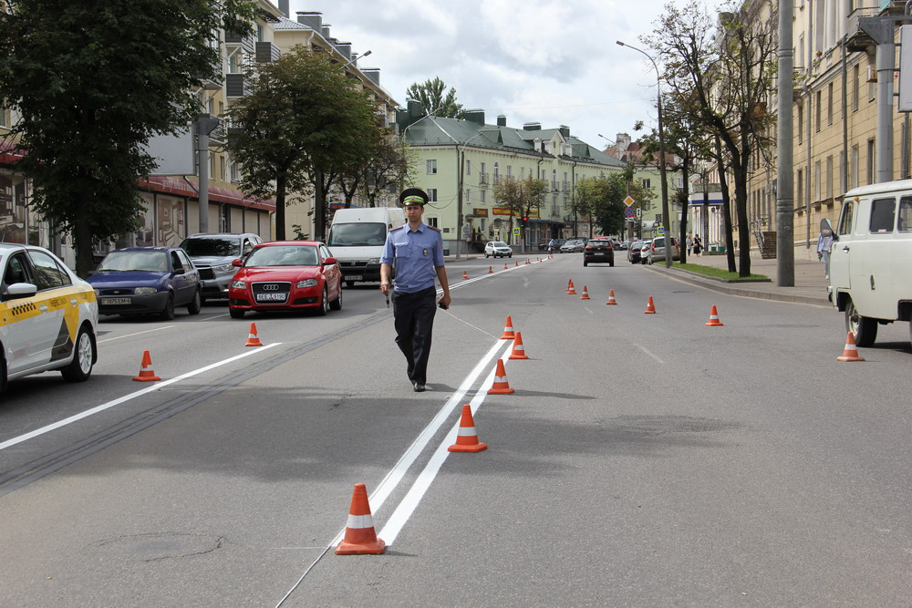 ВМогилеве изменена организация дорожного движения наулице Ленинской научастке отТимирязевской доМиронова