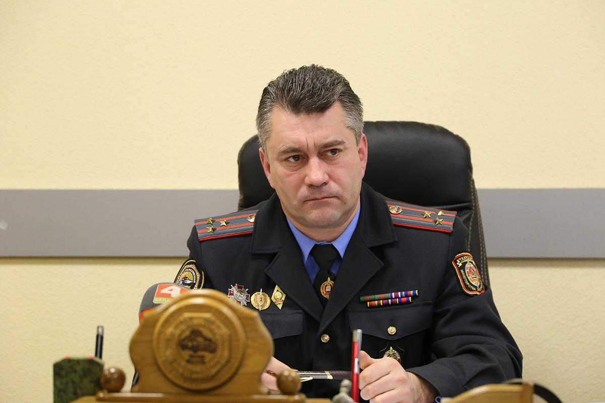 Пресс-конференция начальника УГАИ УВД облисполкома состоялась вМогилеве