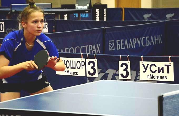 Могилевские мастера маленькой ракетки сыграют всуперфинале командного чемпионата Беларуси