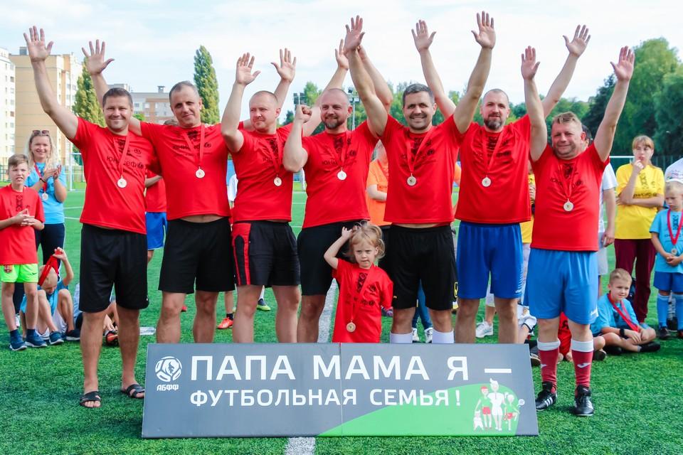 Семейный футбольный фестиваль прошел вМогилеве