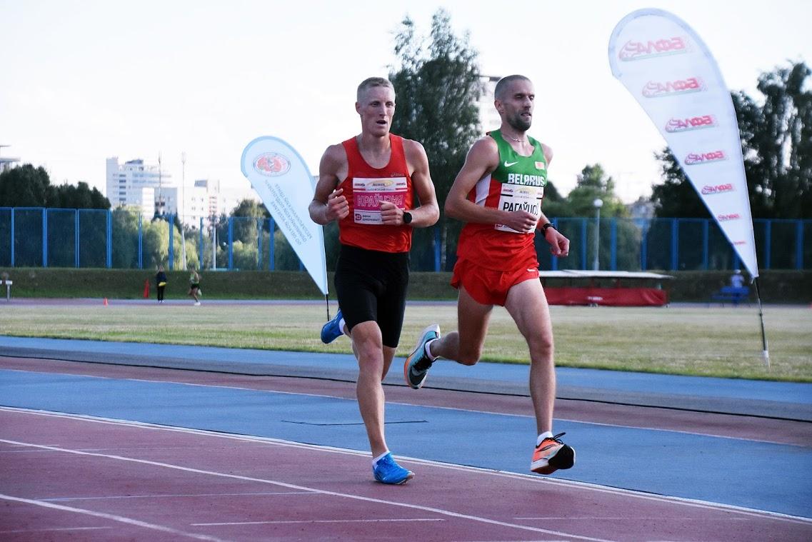 Легкоатлеты Могилевщины стали победителями ипризерами чемпионата Беларуси