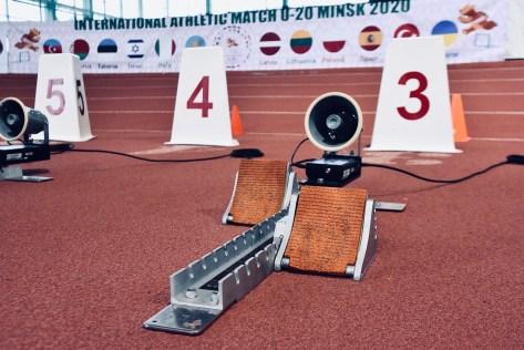 Могилевские легкоатлеты завоевали «золото» и«бронзу» намеждународной матчевой встрече U20