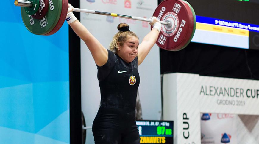 Могилевская тяжелоатлетка «подняла» «серебро» намеждународном турнире