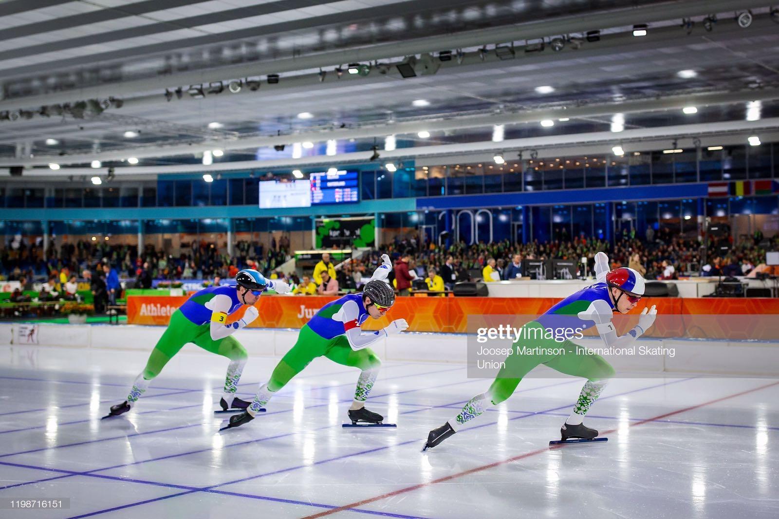 Могилевская конькобежка всоставе команды завоевала «бронзу» начемпионате Европы
