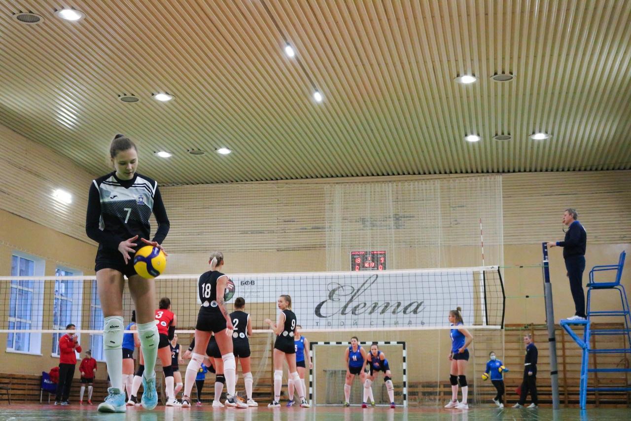 Могилевские волейболистки вновь одерживают победу