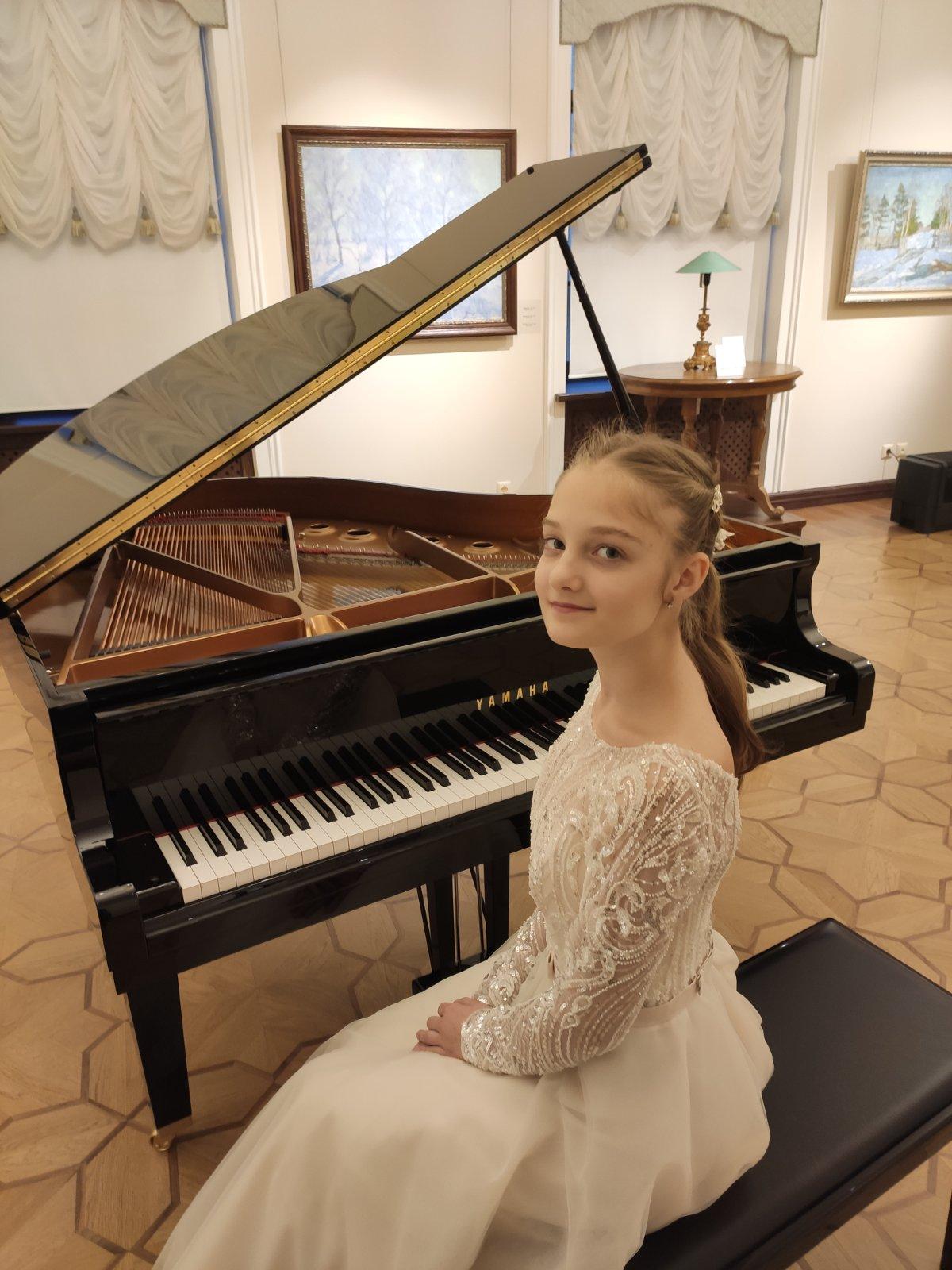 Учащаяся Могилевской гимназии-колледжа искусств завоевала диплом лауреатаI степени наМеждународном музыкальном конкурсе