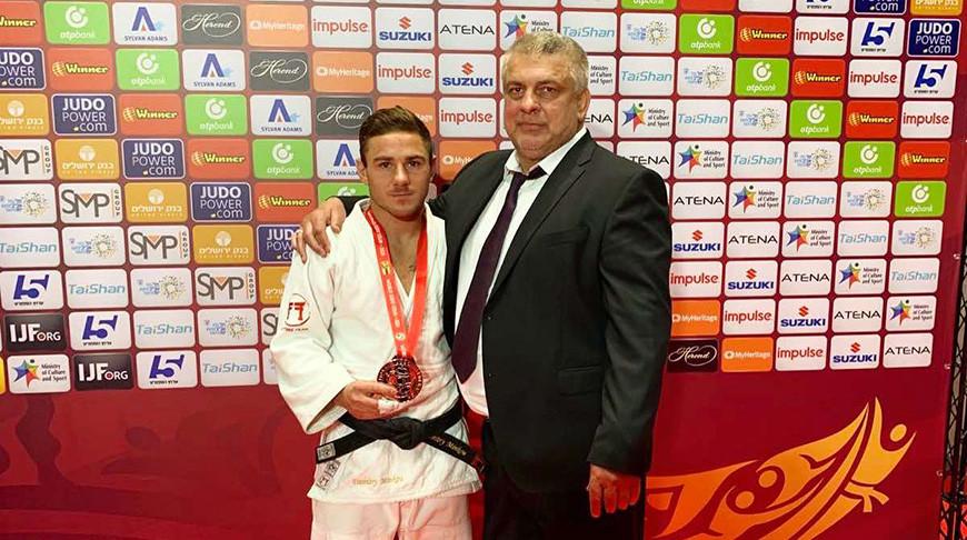 Могилевский спортсмен выиграл серебро турнира «Большого шлема» подзюдо