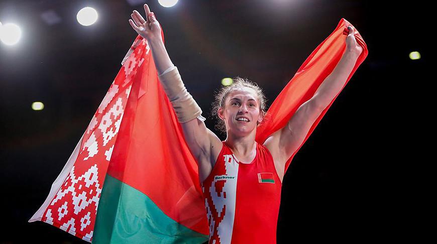 Представительница Могилевской области Ванесса Колодинская вышла вполуфинал олимпийского турнира поженской борьбе