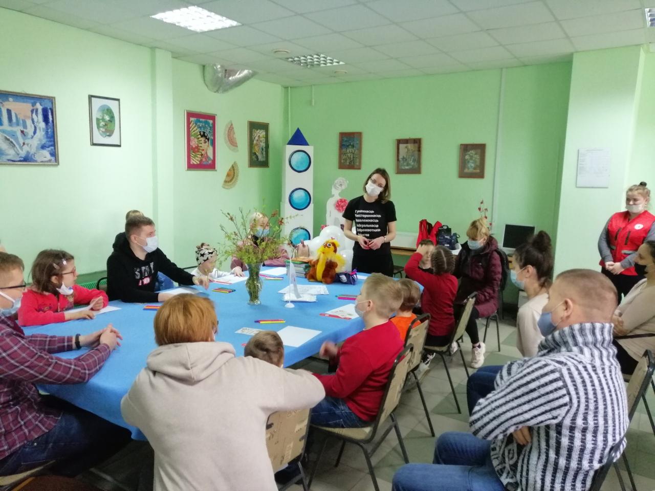 Проект «Сказки добра» состоялся вМогилеве набазе отделения дневного пребывания для инвалидов