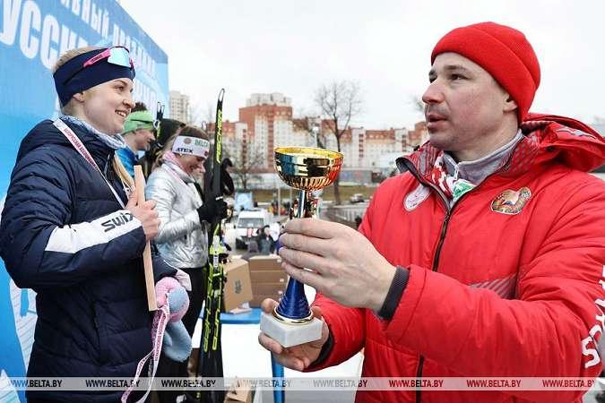 Студенты Могилевского государственного университетаим. А.Кулешова завоевали 2золотые медали на«Всебелорусской студенческой лыжне— 2021»