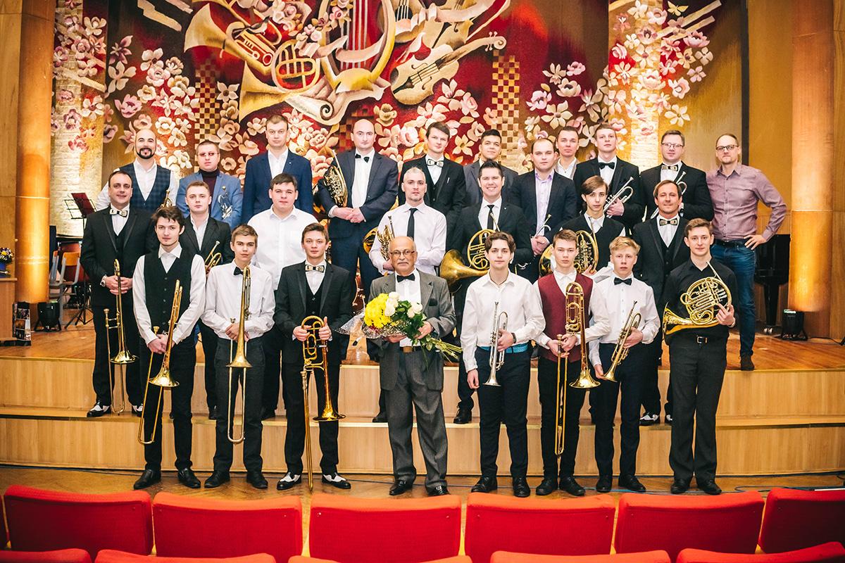 Творческий вечер, посвящённый трём юбилеям Михаила Басина, прошёл вМогилёве