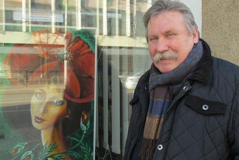 Выставку фотохудожника Мирона Щудло можно посмотреть вокнах Центральной библиотеки Могилёва