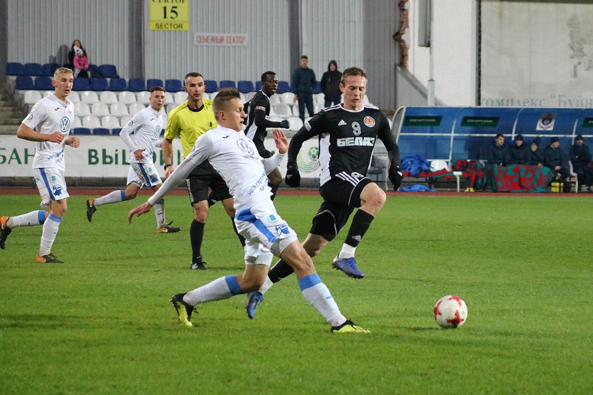 Могилёвский «Днепр» потерпел поражение вдомашнем матче
