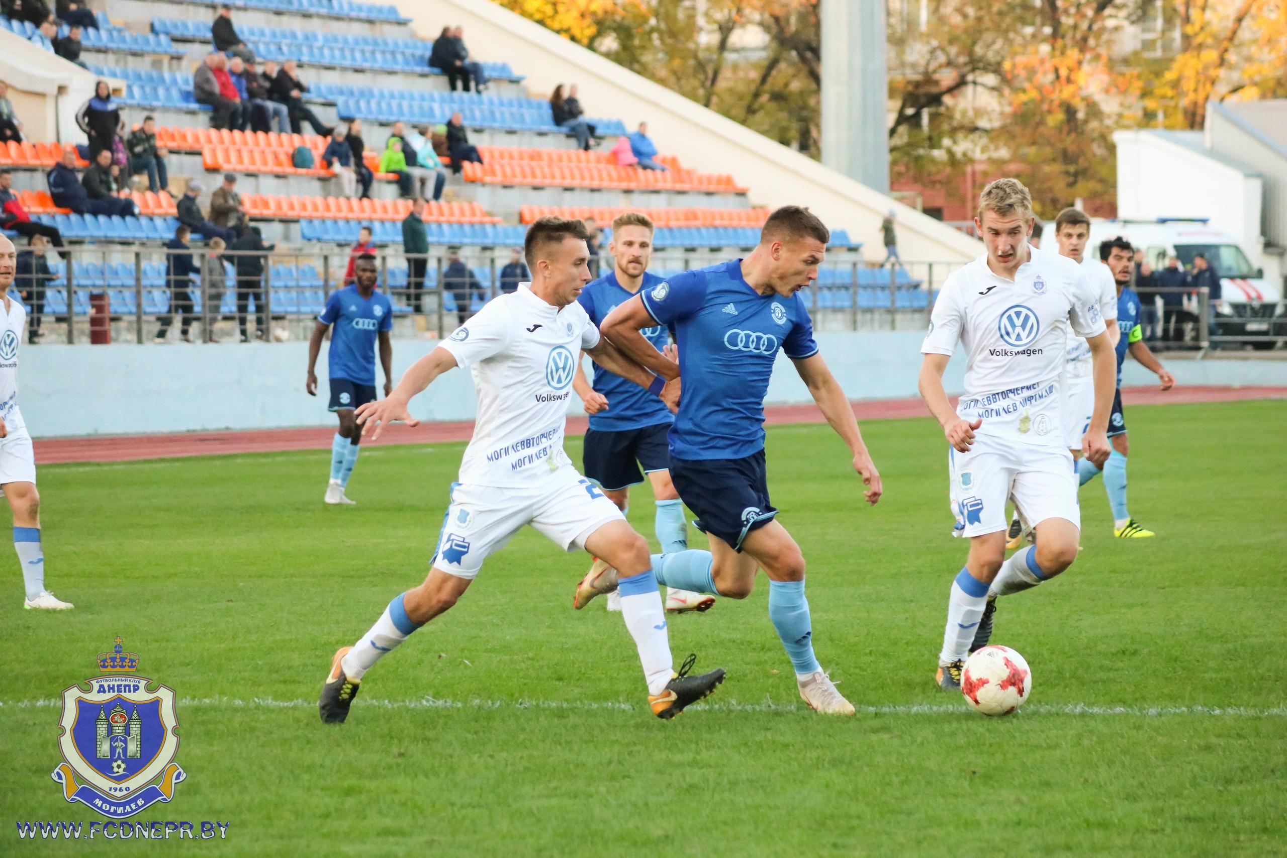 Могилёвский «Днепр» проиграл брестскому «Динамо» насвоём поле