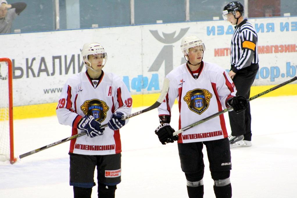 Хоккейный клуб «Могилёв» провёл товарищеский матч
