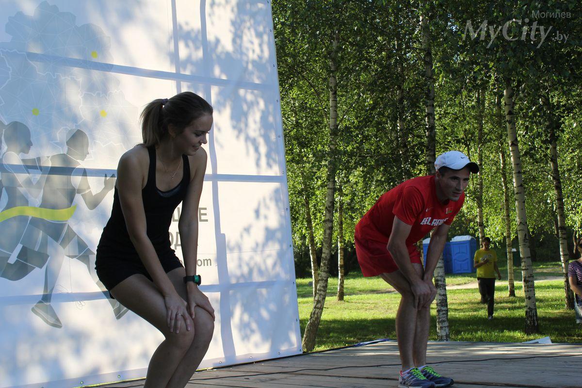 Спортивно-благотворительная акция стартовала вМогилёве