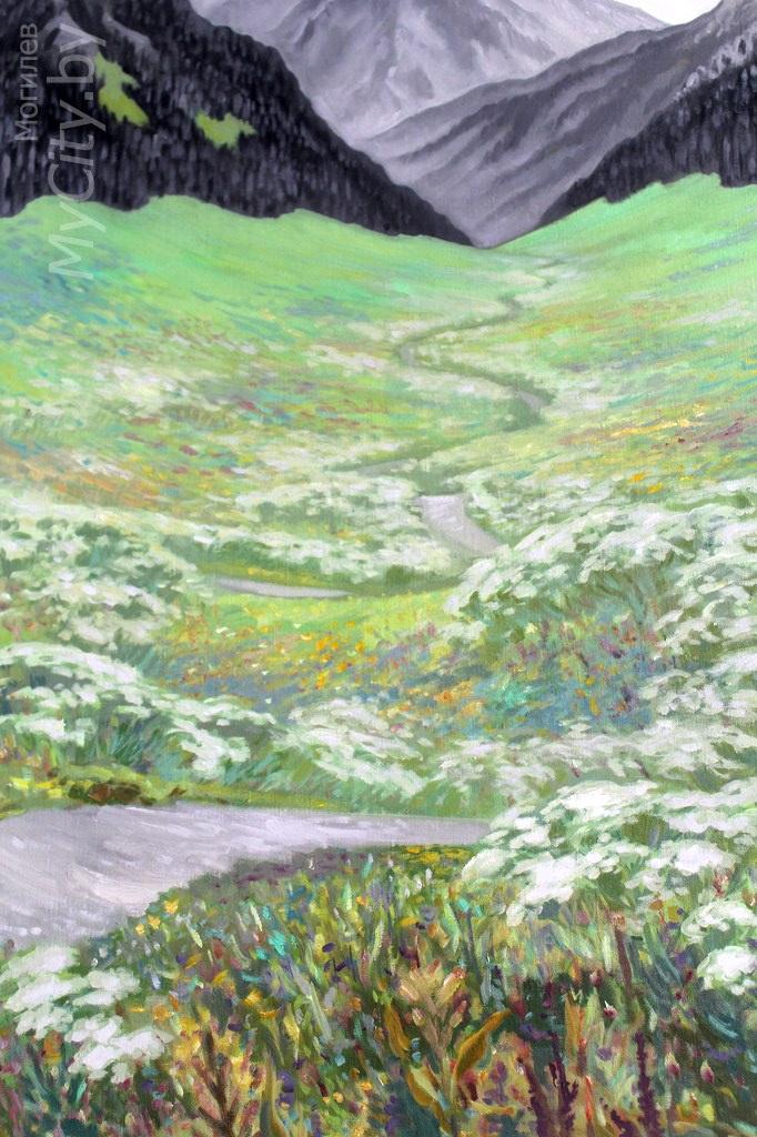 «Пейзаж-вояж». Персональная выставка картин Марины Нестерук