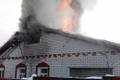 На улице Доватора в Могилёве загорелся частный дом – пострадавших нет