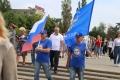 Могилёв встретил белорусско-российский автопробег ДОСААФ