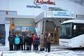 Центр олимпийского резерва по лёгкой атлетике и игровым видам спорта получил в подарок автобус