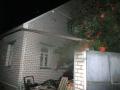 Пожар возле частного жилого дома ликвидировали спасатели ночью вМогилёве